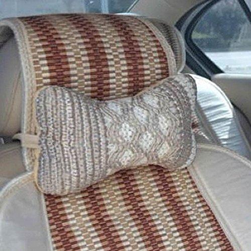 1PCS siège de voiture appui-tête viscose quatre saisons générale à l'aise dans la voiture-cou de voiture tête coussin de dos oreiller