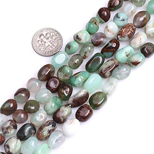 Australia Jade Beads for Jewelry Making Natural Gemstone Semi Precious 8x12mm Freeform Baroque Potato 15