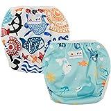 Nageuret Reusable Swim Diaper, Adjustable &...