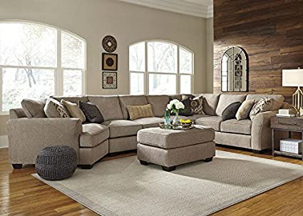 Admirable Amazon Com The Roomplace Savoy 4 Pc Sectional With Al Sofa Gmtry Best Dining Table And Chair Ideas Images Gmtryco