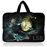 Laptop Skin Shop 15.6 inch Laptop Sleeve Bag Carrying Case Pouch with Hidden Handle for 14