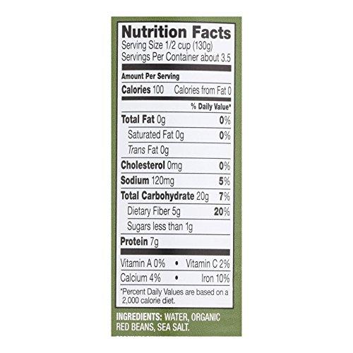 Westbrae Foods Organic Red Beans - Case of 12 - 15 oz. by Westbrae Foods