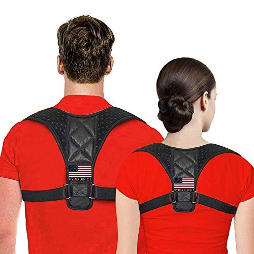 Posture Corrector for Women & Men Under Clothes Adjustable Shoulder Belt for Slouching & Hunching Upper Back Brace Posture Clavicle Strap Pain Relief
