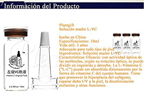 Amazon.com: Plant Gift - Vitamin C Original Fluid ,Whitening / anti-aging / anti-aging, increase skin white, flexible.-10ml2(0.35oz2): Beauty