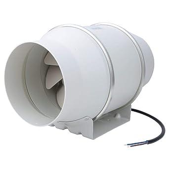 HF-150P Ventilador de extracción de ventilador de conducto oblicuo ...