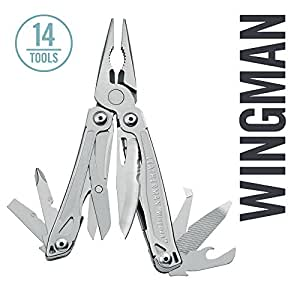 Leatherman - Wingman Multitool, Stainless Steel