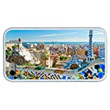 Hipster case mate iPhone 5 5s case barcelona spain TPU White for Apple iPhone 5 5s