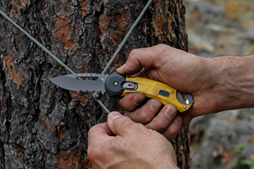 Buck Knives BU753YWX-BRK Redpoint Rescue Tactical Folding Knife Strap Cutter Glass Breaker, Yellow by Buck Knives (Image #2)