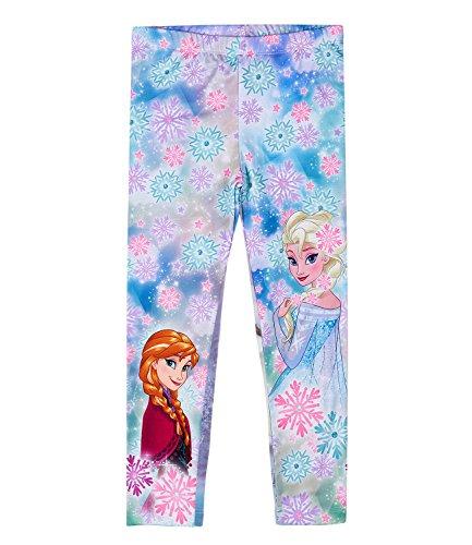 Celeste El Disney reino hielo del Leggings Chicas Celeste YpqTZ