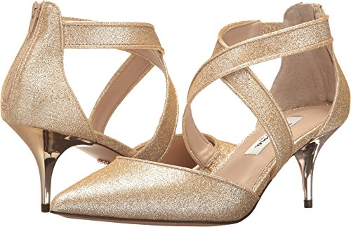 Metallic Heels Nina (Nina Womens Tristen Platino 8 M)