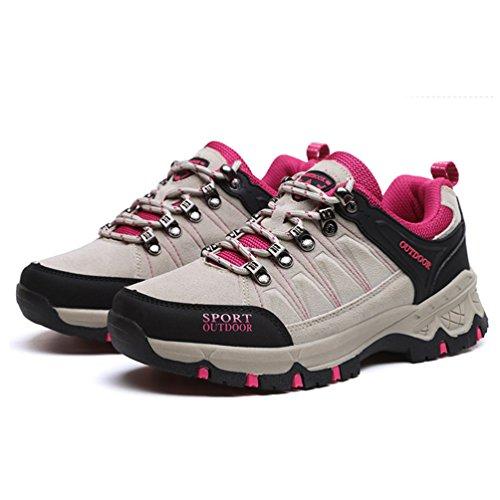 botas adulto bajo XIGUAFR gris Unisex caño de 6qwUd0U