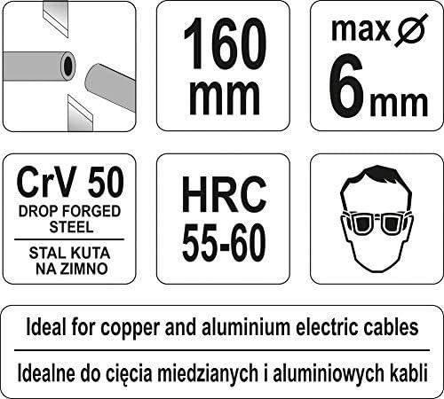 Alicates para cortar cables Yato Yato YT-1966