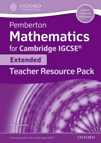 Pemberton Maths for IGCSE: Teacher Resource Pack