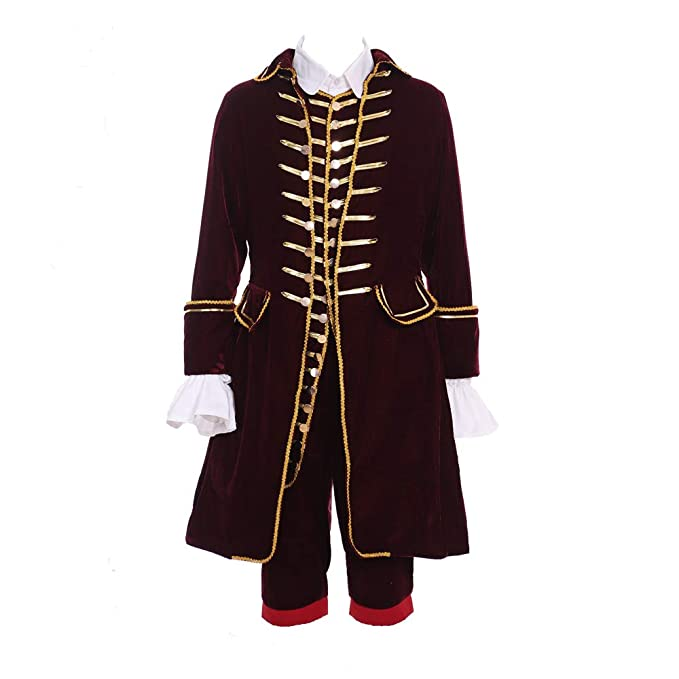 Amazon.com: Disfraz histórico de Alexander Hamilton para ...