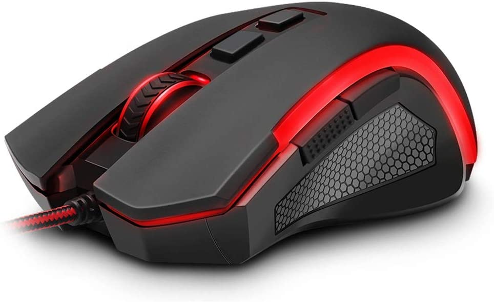 7200 DPI 8-Button Ergonomically Designed Wired Mouse USB Gaming Mouse