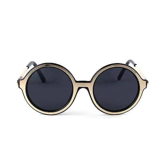 YANJING Gafas de Sol del Nuevo Marco de Las Gafas de Sol ...
