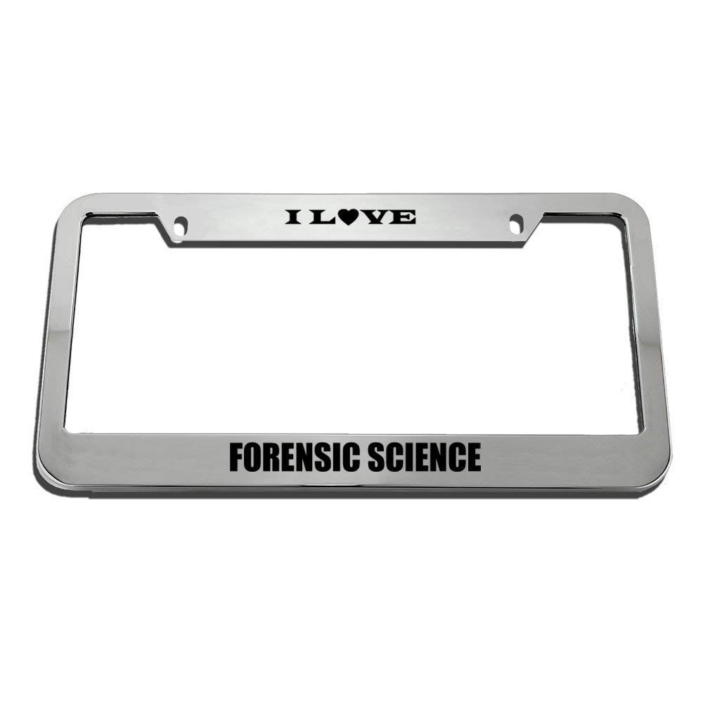 FunnyframeABC Personalized License Plate Frame Aluminum Metal License Plate Frames Car License Plate Cover