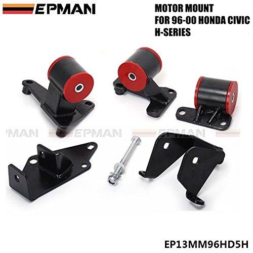 epman para 1996 - 2000 Honda Civic EK H22 A H22 H23 H-Series JDM motor motor Swap Mounts: Amazon.es: Coche y moto