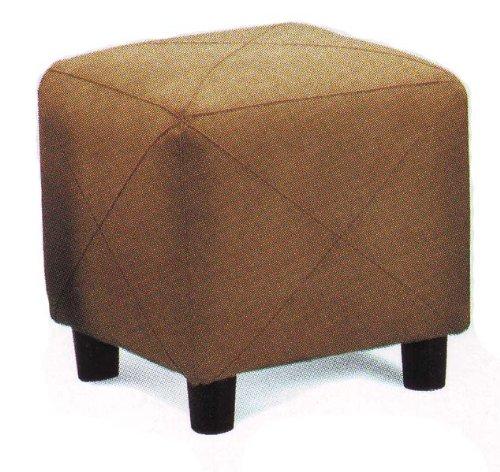 Microfiber Cube Footstool - 3