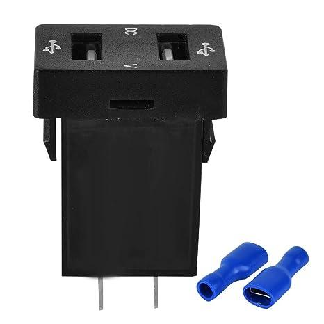 Amazon.com: Cargador USB para coche, adaptador de teléfono ...
