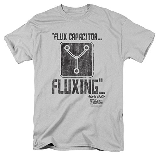 Back Dark T-shirt - Back to the Future - Fluxing T-Shirt Size L