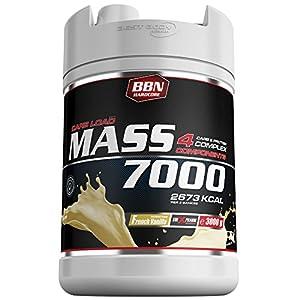 BBN Hardcore Mass 7000 - 4 Carb und Protein Complex French Vanilla, 1er Pack...