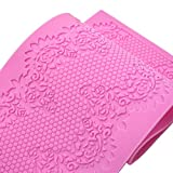 Fondant Sugar Gumpaste Silicone Mold for Cake Decorating and Sugarcraft (Sweet Lace Mat)