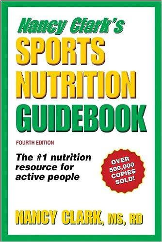Amazon Fr Nancy Clark S Sports Nutrition Guidebook Nancy