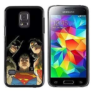 Be Good Phone Accessory // Dura Cáscara cubierta Protectora Caso Carcasa Funda de Protección para Samsung Galaxy S5 Mini, SM-G800, NOT S5 REGULAR! // Cartoon Comics Characters