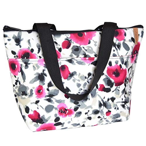 Donna Sharp P.S I Love You Floral Lunch Tote