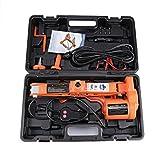 ALAVENTE 2 Ton 12V Scissor Jack Electric Car Lifting Jack For Tire Wheel Repair Changing Kit
