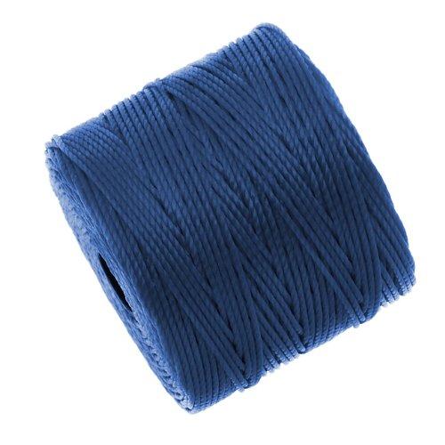 S-Lon Super-Lon Cord - Size #18 Twisted Nylon - Blue (77 Yard Spool)