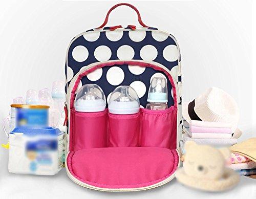 Mode Bébé Main Dos Pour Couleur Multifonctionnel Jeunesse La L'eau Imperméable À Capacité Grande Rouge Sac 1Hxq7Yx