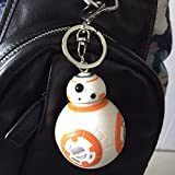 Condition: 100% New and high quality Item Includes: Action Figures BB-8 as photos Material:PVC Color: As picture Size: M: High: 5cm L: High: 7cm Package include: 1pc key chain