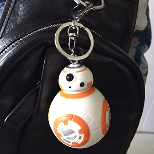 New Star Wars Action Figures BB-8 Droid Robot Keychain Pendant Toy - Malaysia In Sites
