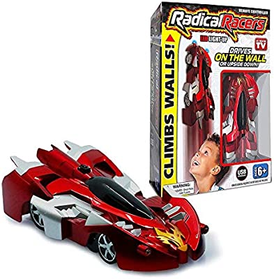 Finelyty Radical Racers, Radical Remote Controlled Wall Climbing Car Racers