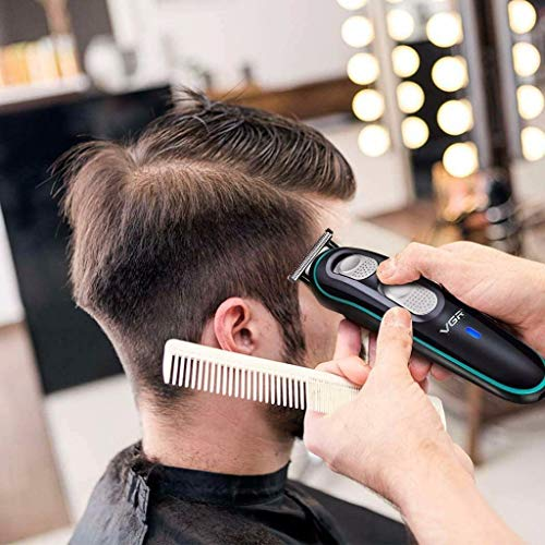 Hair Clippers for Men, Men's Grooming Kit with Full Size Hair Trimmer, Design Trimmer, Micro Shaver, Nose Trimmer, Body Trimmer, Low Noise & Rechargeable