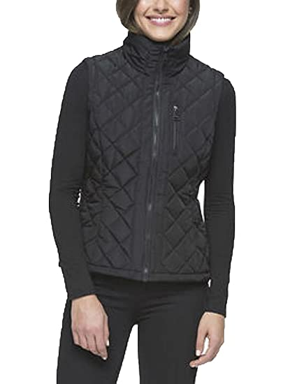 d0d50236621 Amazon.com  Andrew Marc Ladies  Quilted Vest (S