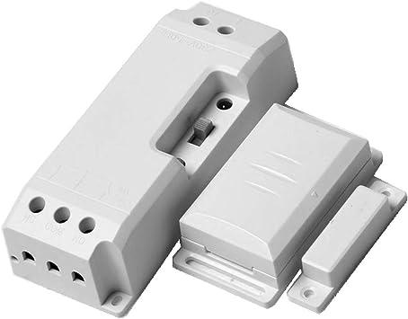 WeBaSo - Control de escape por radio para DAS-2090-E, hasta 2300 W, con interruptor de contacto para ventana DFM-1000, funciona mientras esté encendida la luz de la campana extractora: Amazon.es: Bricolaje y
