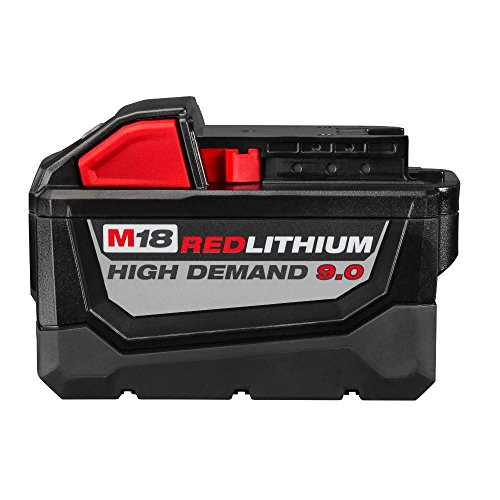 Milwaukee M18 FUEL 18-Volt Lithium Ion Brushless Cordless 7 1/4 in. Circular Saw with M18 18-Volt 9.0Ah Starter Kit   Modern Hardware Power Tools for Your Carpentry Workshop or Machine Shop by Milwaukee (Image #2)