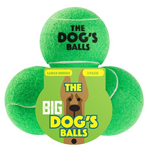 The Dog's Balls The Big Tennis Balls, Premium Dog Toy Bal...