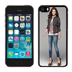 Unique Designed Cover Case For iPhone 5C With Fernanda Prada Girl Mobile Wallpaper(4) Phone Case