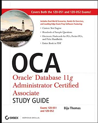 Amazon.com: OCA: Oracle Database 11g Administrator Certified ...