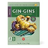 Ginger People Ginger Chews, 4.5 OZ (Pack of 12)
