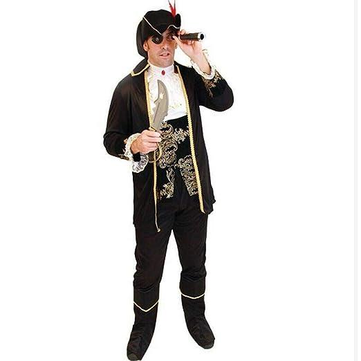 WWAVE Disfraz Pirata Disfraz de Halloween Cosplay Anime Juego el ...