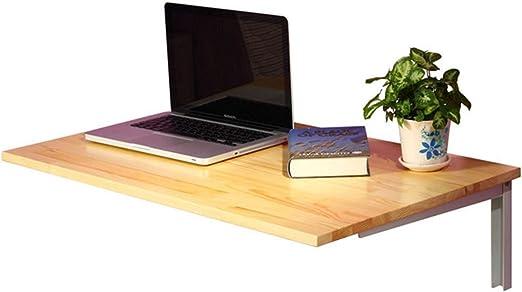 LAMXF-Table murale Mesa Plegable de Cocina de Madera Mesa de Libro ...