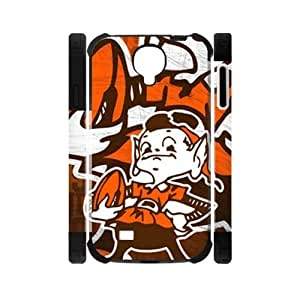 Hoomin Funny Cleveland Browns Design Samsung Galaxy S4 I9500 Cell Phone Cases Cover Popular Gifts(Laster Technology) Kimberly Kurzendoerfer