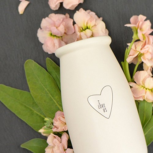 I Love Us Bud Vase | by Laurel Denise (Products Jobs Country Home)