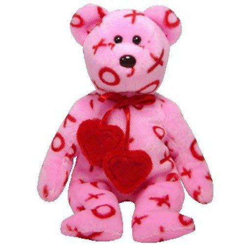 Valentines Day Beanie Baby - Ty Beanie Babies Hug-Hug - Bear