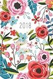 Bullet Journal/Notebook - 2017-2018 Floral Design Notebook: A Professionally Designed Daily Planner Book/Calendar for the Bullet Journalist (Organizer)